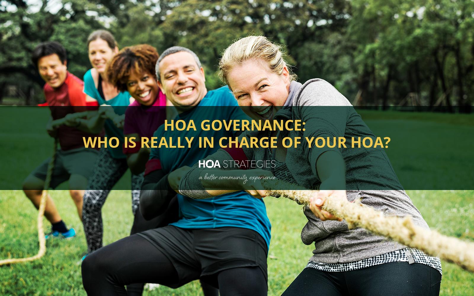 HOA Governance is not tug of war