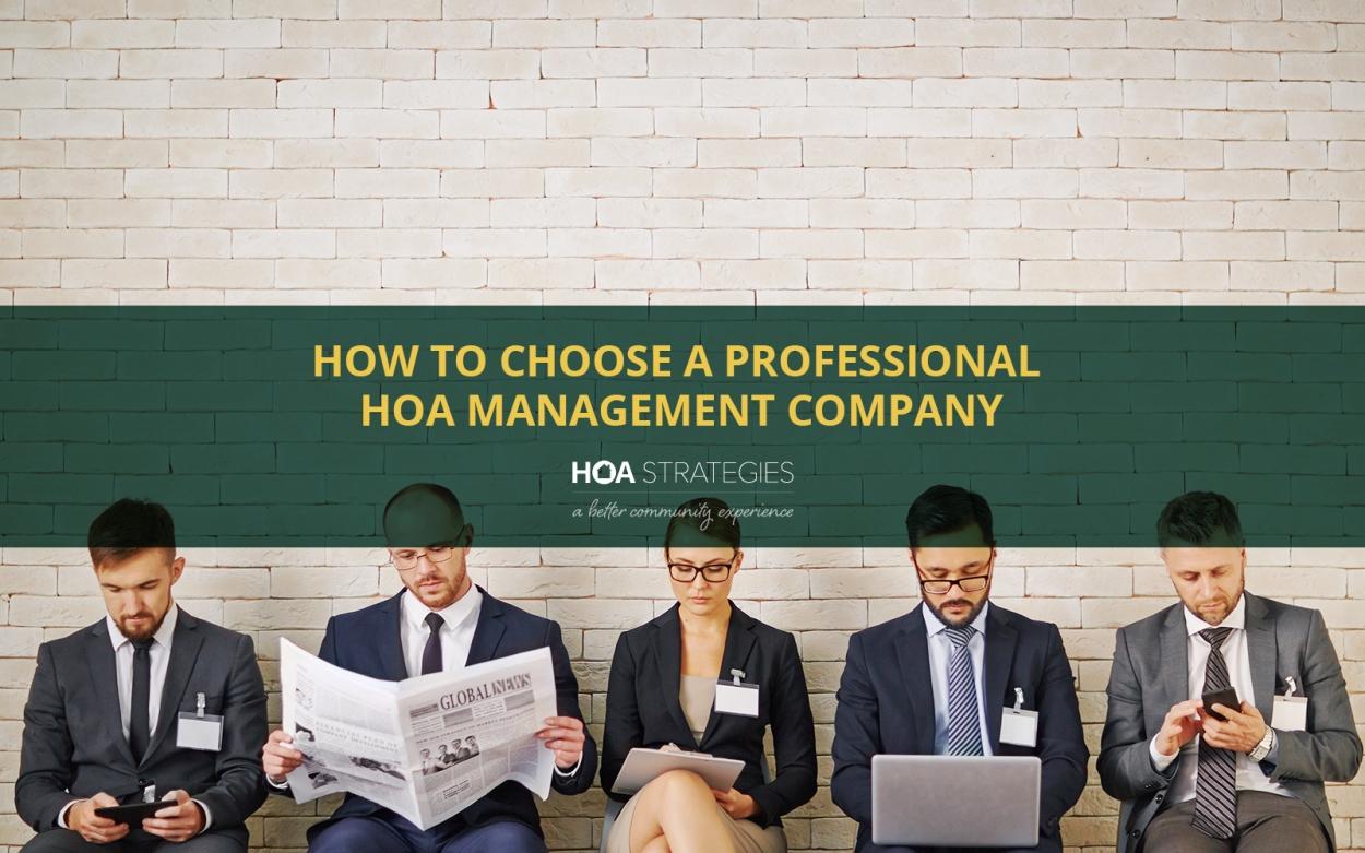 choose professional hoa management