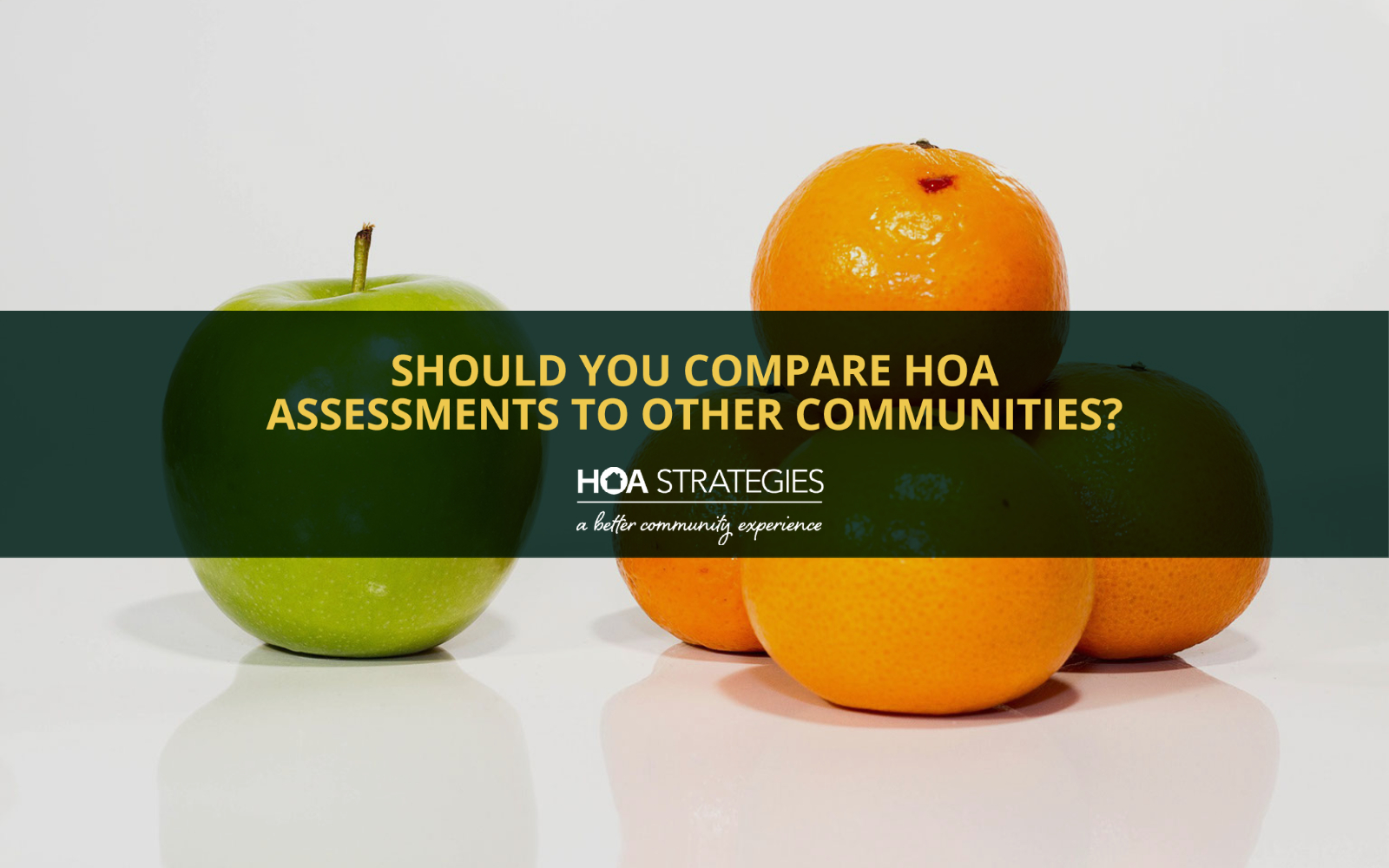 Compare HOA Assessments